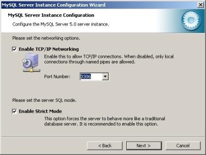 MySQLのインストール