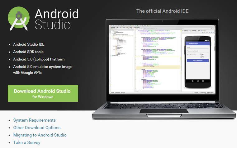 Android:フリーのGoogle純正Androidアプリの統合開発環境「Android Studio」のWindows版インストール方法